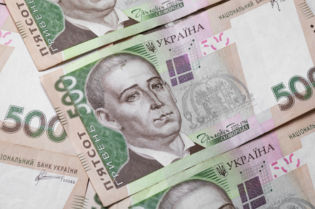 Close up of different dollar bills. Concept of money and earnings. Money savings. Archivio Fotografico