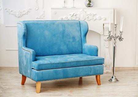 Classic room with a sofa. Concept interior. Banque d'images