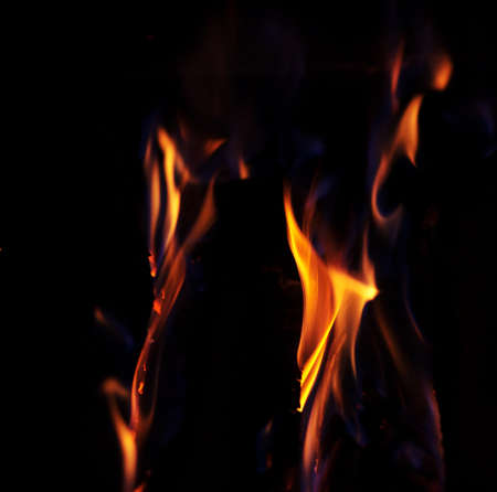 Fire. Background. Element.The concept of nature.