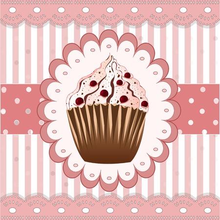 cranberries: cranberries cupcake