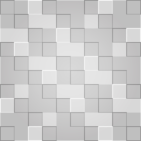 Nice grey square textured background Vector