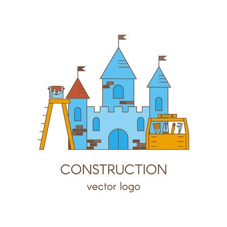 House Building Real Estate Vector Logo Template