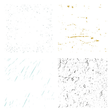 splattered: Set Texture. Wall Background. Vector Illustration.  Simply Place illustration over any Object to Create grungy Effect abstract,splattered , dirty,poster for your design.