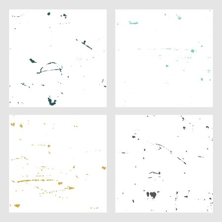 Set Texture. Wall Background. Vector Illustration. Simply Place illustration over any Object to Create grungy Effect abstract,splattered , dirty,poster for your design.