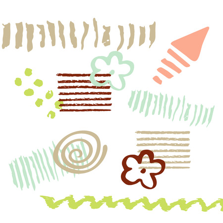 Newborn seamless vector patterns. Kid pattern. Vector seamless baby pattern. Kids bed linen. Polish cotton, American cotton, Chinese cotton.
