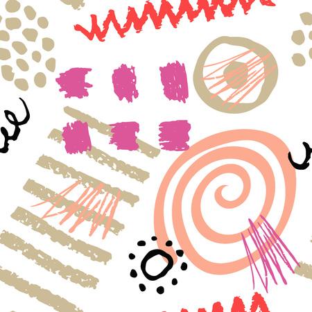 garabatos: Seamless vector patterns.