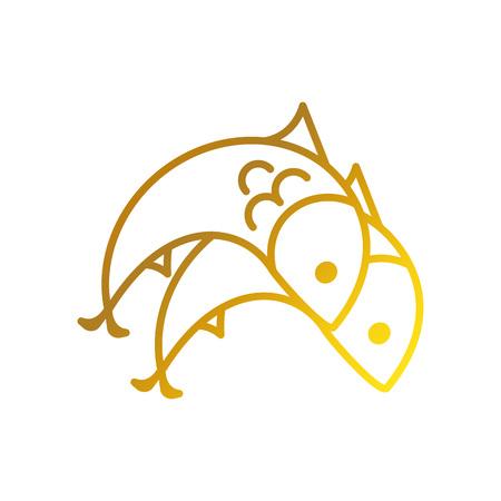 Sjabloon minimalistisch symbool