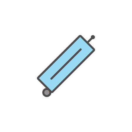Modèle symbole minimaliste Banque d'images - 81365460