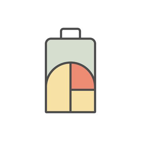 Symbole minimaliste de modèle Banque d'images - 81365467