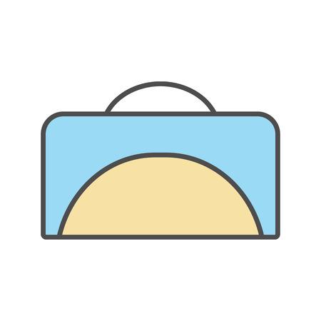 Symbole minimaliste de modèle Banque d'images - 81365468