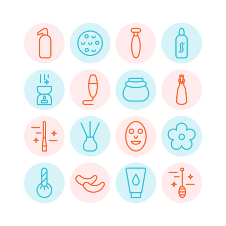 Spa icons set. Stock Vector - 83613657