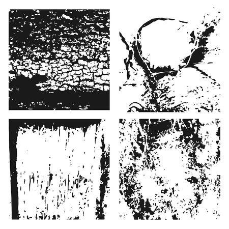 Grunge texture de cuir noir et blanc Banque d'images - 86748690