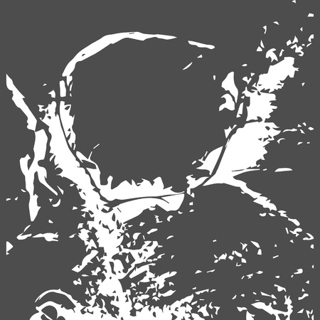 Grunge texture noir et blanc détresse mur . illustration vectorielle . placez simplement sur fond . placez votre élément de conception pour créer une illustration unique . placez votre conception Banque d'images - 87710807