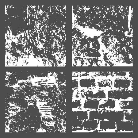 Grunge in bianco e nero texture di disturbo Archivio Fotografico - 90879722