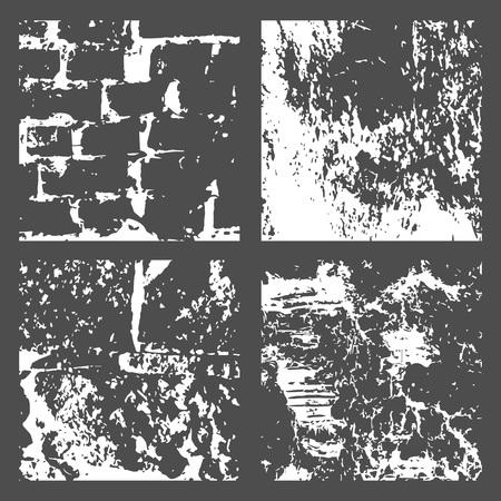 Grunge Black and White Distress Texture Reklamní fotografie - 90879727