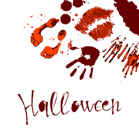Vector of Halloween poster