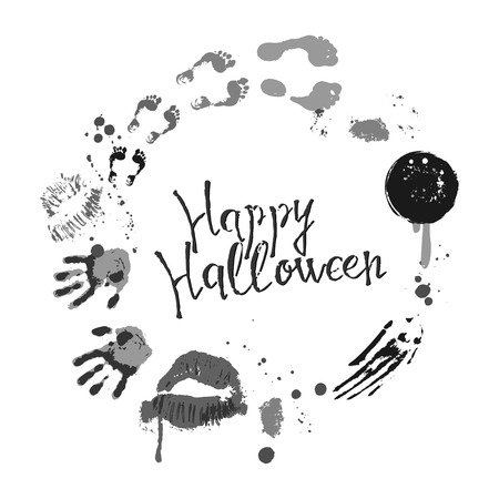 Vector of Halloween poster