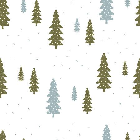크리스마스와 행복 한 새로운 예 현대 원활한 배경 세트