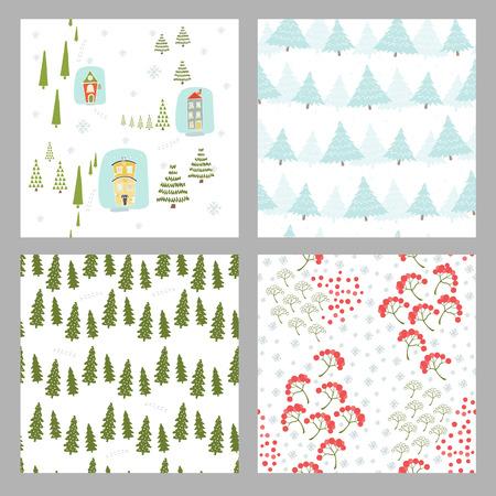 Christmas seamless pattern. Illustration