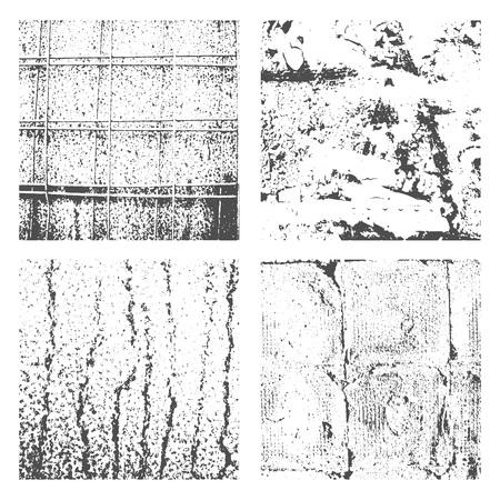 Grunge Black and White Distress Texture Reklamní fotografie - 97820048