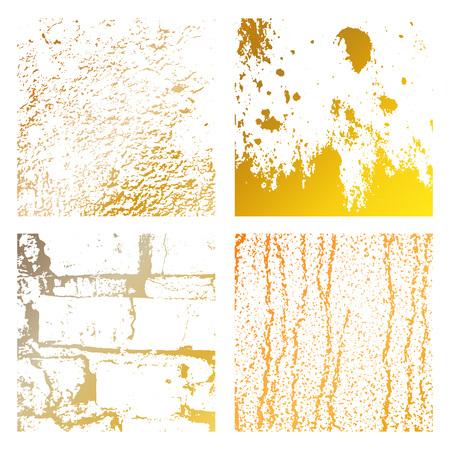 Grunge Distress Texture pattern set