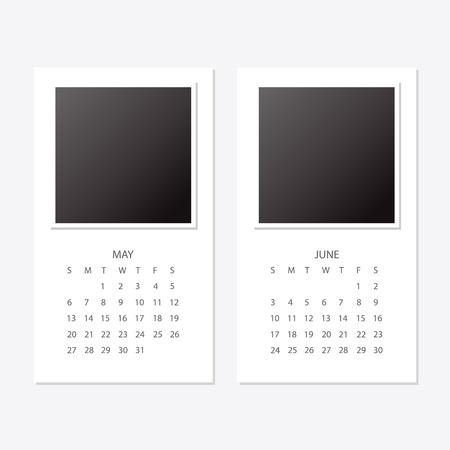 2018 new year calendar.