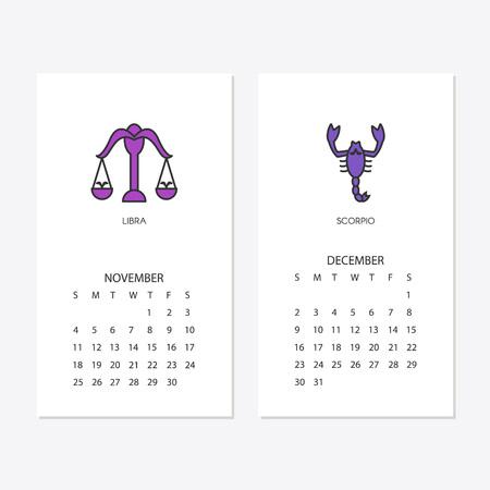 2018 neues Jahr Kalender Standard-Bild - 100041068