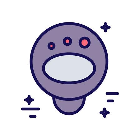 Astronomy icon set Illustration