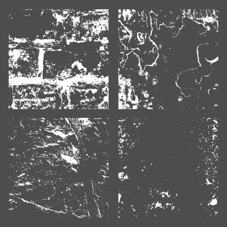 Grunge Black and White Distress Texture Archivio Fotografico - 101354918