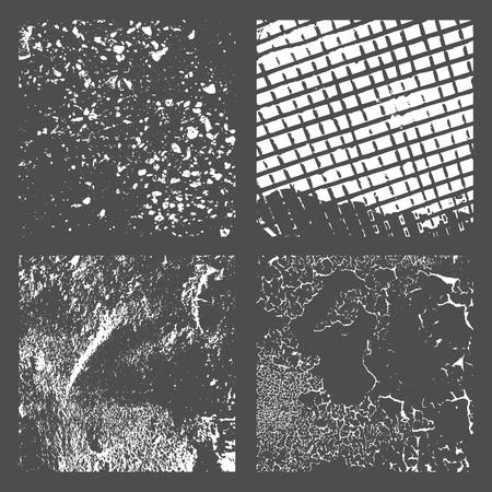 Grunge Black and White Distress Texture Reklamní fotografie - 101354919