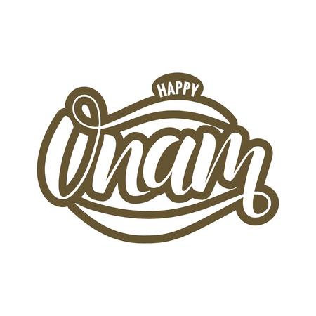 Happy Onam festival typography lettering Stock Vector - 103696652