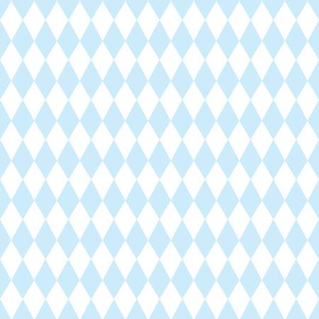 Oktoberfest Blue Geometric Pattern. Stockfoto