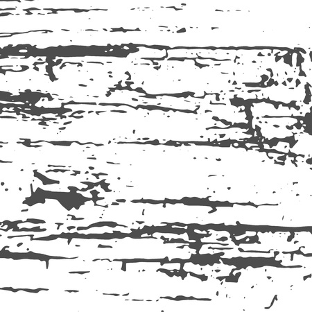 Grunge Black and White Distress Texture. Wall Background. Vector Illustration. 