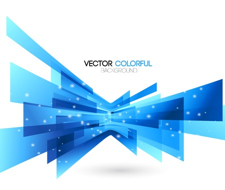 Vector illustration Abstract technology lines vector background. Vectores