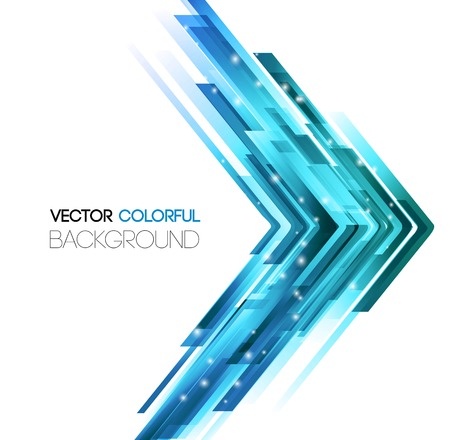Vector illustration Abstract technology lines vector background. 矢量图像