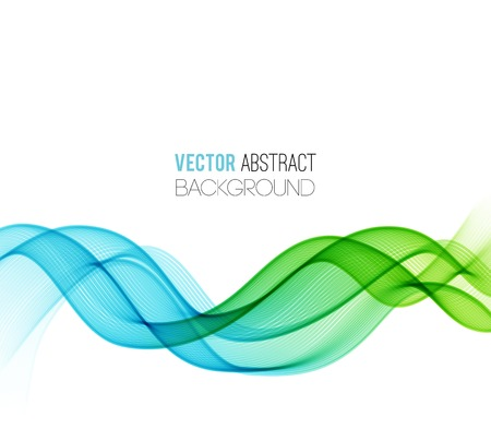 smooth curve design: Vector Abstract curved lines background. Template design