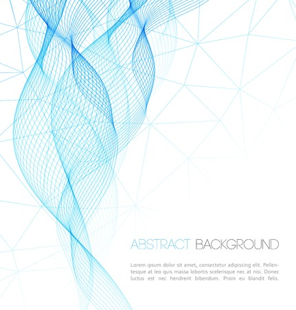 Vector Abstract technology background. Template  business brochure design Illustration