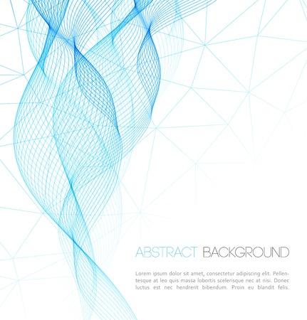 Vector Abstract technology background. Template  business brochure design Ilustração