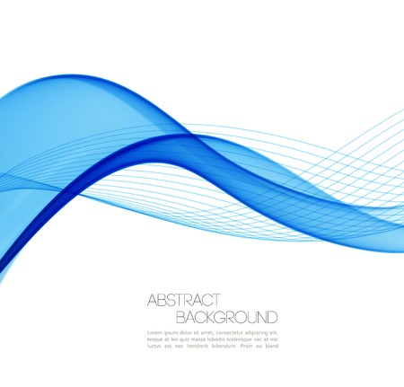 air flow: Vector Abstract waves  background. Template  business brochure design