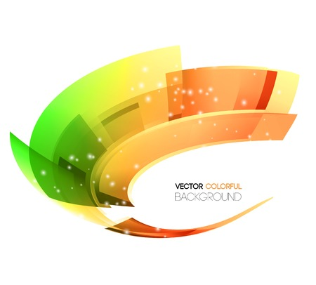 Vector illustration Abstract technology lines vector background. Ilustração