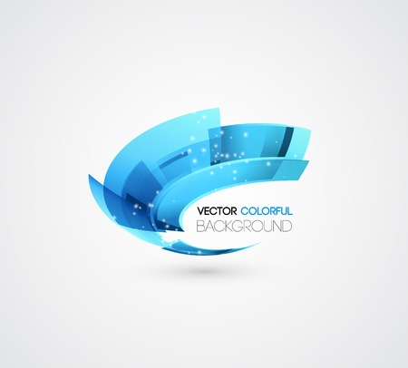science background: Vector Abstract technology digital lines vector background. Logo design