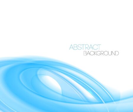 curved lines: Vector Blue Abstract curved lines background. Template  design Illustration