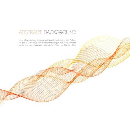 abstract waves background: Vector Abstract waves  background. Template  business brochure design
