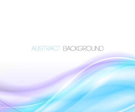 curved lines: Vector Abstract curved lines background. Template  design