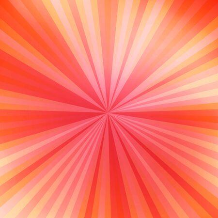 Beautiful abstract orange starburst background