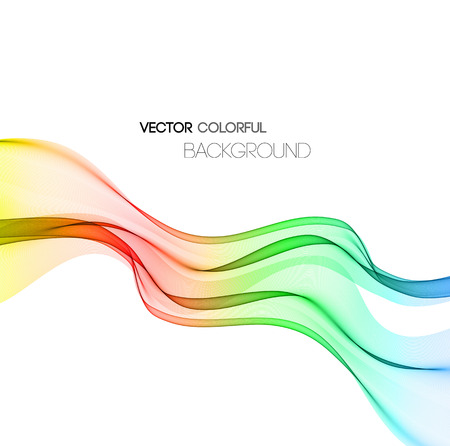 Vector Abstract color technology background. Template business brochure design
