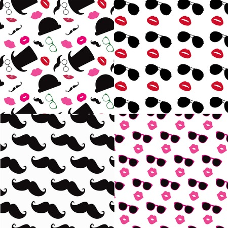 stovepipe: Vector Seamless Pattern Set
