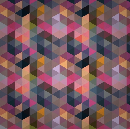 scuff: Triangle Pattern, Background, Texture Vector Hexagon Illustration