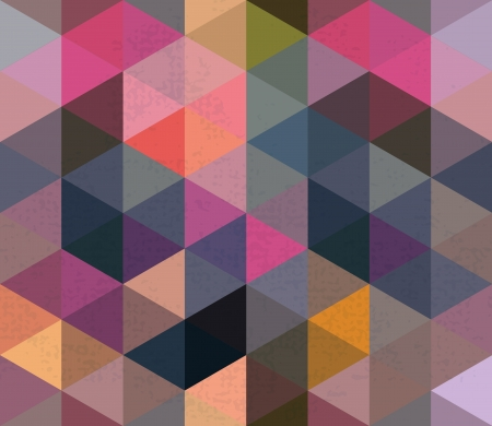 scuff: Seamless Triangle Pattern, Background, Texture Vector Hexagon