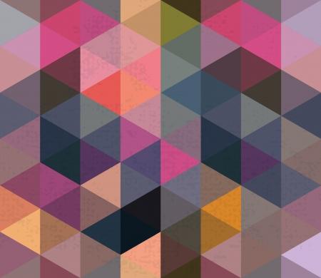 scuff: Seamless Triangle Pattern, Background, Texture Vector Hexagon